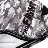 Venum Kleding Tecmo Rashguard L/S  White Grey Venum Fightshop Nederland