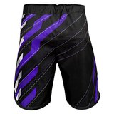 Hayabusa Metaru Charged Jiu Jitsu Fight Shorts Black Purple BJJ Kleding