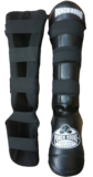 Kickboks Scheenbeschermers Experience Luxury Punch Round™ PU Black