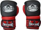 Punch Round Carbonix Bokshandschoenen Matte Black Red