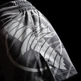 Hayabusa Muay Thai Kickboxing Shorts 2.0 Grey Kickboks Broekjes