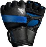 Hayabusa MMA Handschoenen T3 4OZ MMA Gloves Zwart Blauw