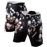 PunchTown FRAKAS eX Souls In The Wire MMA Shorts Black