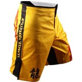PunchTown FRAKAS eX Ode T The Dragon MMA Shorts Yellow