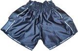 Punch Round Kickboks BroekjesMatte Carbon Zwart Wit