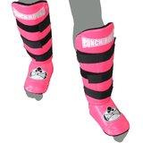 Kickboks Scheenbeschermers Experience Luxury Punch Round™ PU Roze