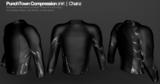 PunchTown Rashguard Chainz Black Long Sleeve