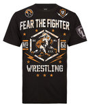 Fear The Fighter Wrestling T-Shirt