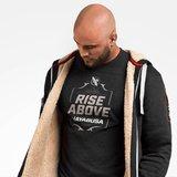 Hayabusa Arctic Heavy Weight Zip Hoodie Zwart