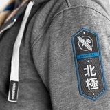 Hayabusa Arctic Heavy Weight Zip Hoodie Grijs