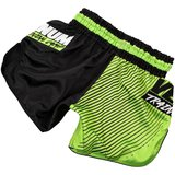 Venum Training Camp Muay Thai Short Zwart Neo Geel - Venum Vechtsport Shop