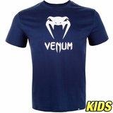 Venum Vechtsport Kleding Kids Classic T Shirt Blauw