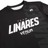 Venum Team Linares Dry Tech T-shirt Zwart Wit