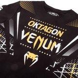 Venum Oktagon T-shirt Zwart Goud Zilver