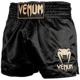 Venum Classic Vechtsport Broekjes Muay Thai Short Zwart Goud