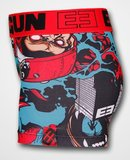 Freegun Underwear Men Original Boxershorts King Kong Black Red