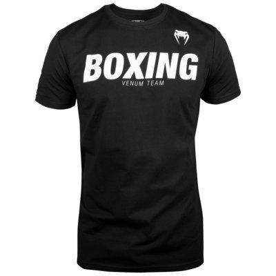 Venum BOXINGVT T-shirts Zwart Wit