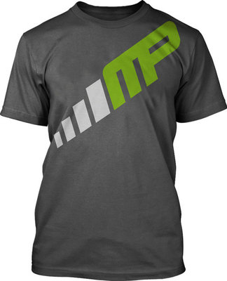 MusclePharm Turn It Up T Shirt Grey