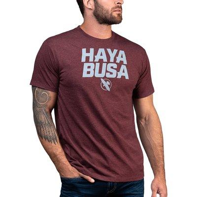 Hayabusa Casual logo T-shirt Rood