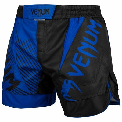 Venum NOGI 2.0 Fight Shorts Zwart Blauw Vechtsport Shop Nederland