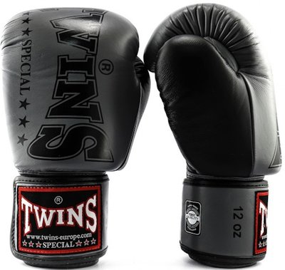 Twins Kickboks Handschoenen BGVL 8 Grijs Boxing Gloves
