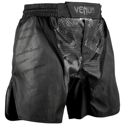 Venum Tactical Fight Shorts Camo Black