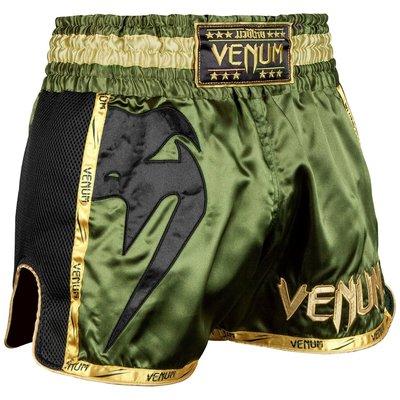 Venum Muay Thai Boxing Shorts Giant Groen Zwart Goud