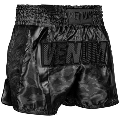 Venum Muay Thai Full Cam Shorts Zwart