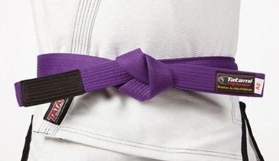 Tatami Adult BJJ Rank Belt Purple Tatami Fight Wear