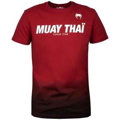 Venum MUAY THAIVT T-shirts Rood ZwartMuay Thai Shop