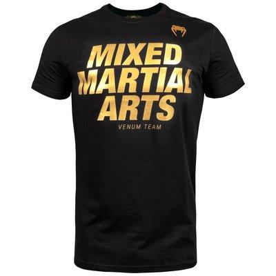 Venum MMA VT T Shirts Zwart Goud