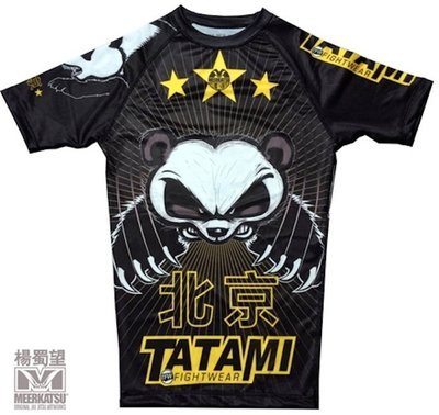 Tatami Chinese Panda Rash Guard by Tatami Fightwear
