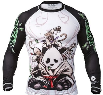Tatami Gentle Panda Rash Guard by Tatami Fightwear