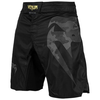 Venum Fight Shorts Light 3.0 Zwart Grijs Camo