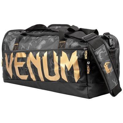 Venum Sporttas Sparring Sports Bag Camo Zwart Goud