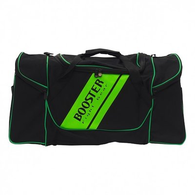 Booster Sporttas Team Duffel Training Bag Zwart Groen