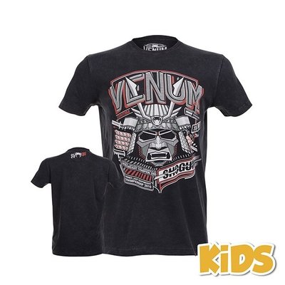 Venum Shogun Sepramacy Kids T Shirt Black MMA Kleding