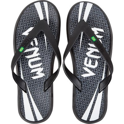 Venum Challenger Sandals Flip Flop Slippers Black