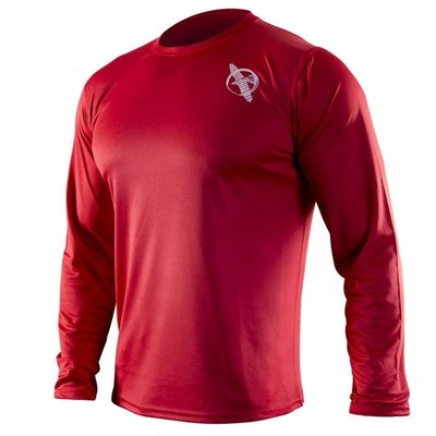 Hayabusa Kunren Vechtsport Training Shirt Red