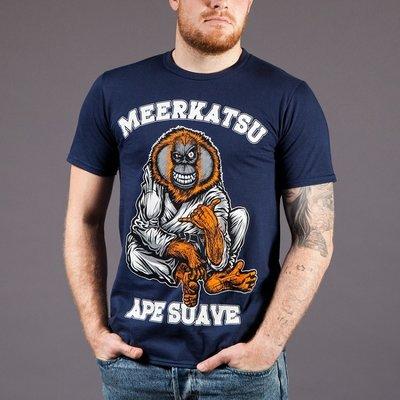Meerkatsu Ape Suave BJJ T Shirts size S