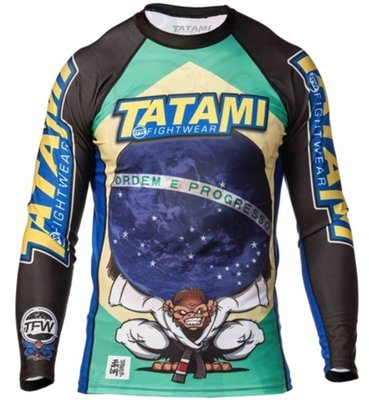 Tatami Atlas Rash Guard only Tatami BJJ Fightgear