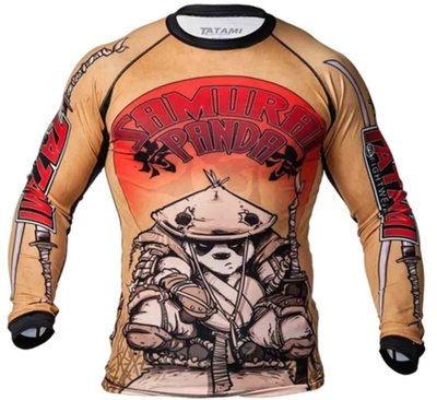 Tatami Samurai Panda Rash Guard by Tatami Fightwear