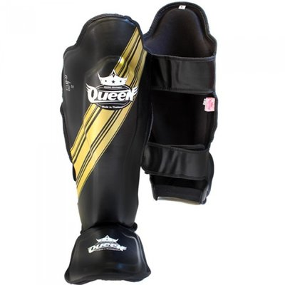 Queen Kickboks scheenbeschermers SGQ Vixen 2 Black Gold