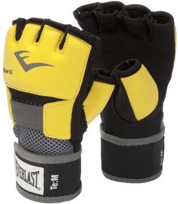 Everlast Evergel Handwraps Zwart Geel by Everlast Fight Gear