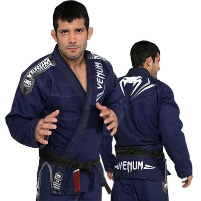 Venum BJJ GI Elite Navy Gold Weave by Venum BJJ Fightgear