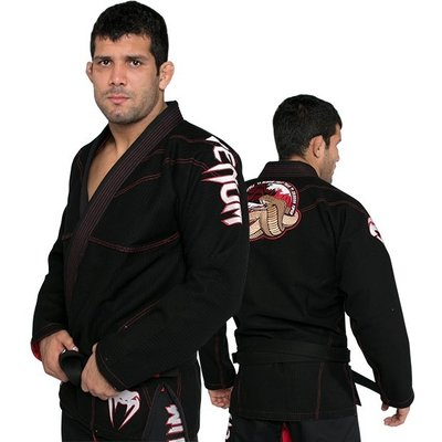 Venum BJJ GI Crimson Viper Black Gold Weave by Venum BJJ Fightgear