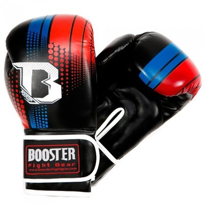 Kickboks Sparring Bokshandschoenen Booster Blue Red