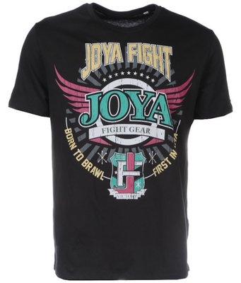 Joya Vechtsport T Shirts JAMAICA Zwart Joya size S