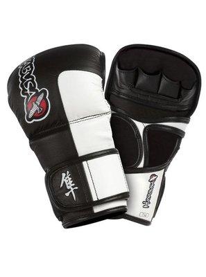 MMA Handschoenen Hayabusa Tokushu 7OZ MMA Hybrid Sparring Gloves Black