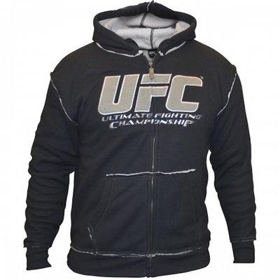 UFC Mens Sherpa Hoodie Antraciet Grijs